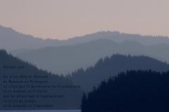 Fjord, Juneau, Alaska. Poème à l'humain.