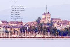 CathéŽdrale Saint-Pierre, Genève. Poème protestant.